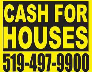 CASH FOR YOUR HOUSE