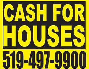 CASH FOR YOUR HOUSE Kitchener / Waterloo Kitchener Area image 1