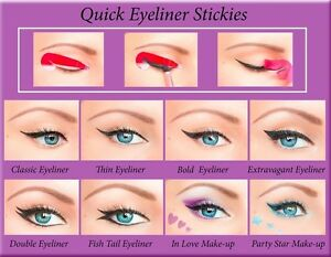 Perfect-EYELINER-80-pcs-Stickies-Stencil-Quick-Eye-Cat-Makeup-Tool-ORIGINAL-CA1