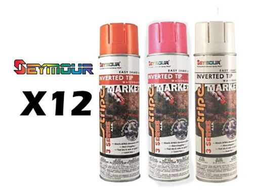 Seymour 3 Series All Purpose Marking Paint - Case (12) 15 oz cans
