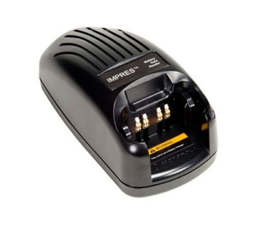 Motorola IMPRES Battery Data Reader NNTN7392A - Adapters Included - NIB