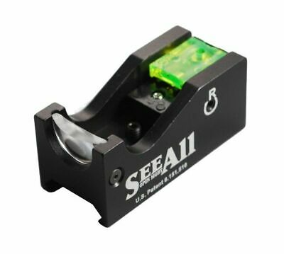 See All Open Sight - Fiber Optic Open Sight - Crosshair