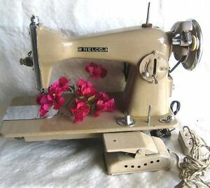 Nelco model a 1 straight stitch low shank heavy duty sewing machine