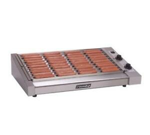 Roundup HDC-50A 50 Hot Dog Roller Grill -Slanted Top,120v- clean