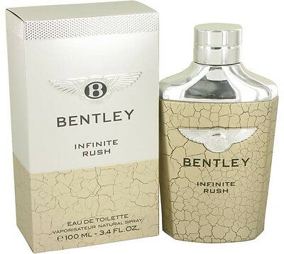 Bentley Infinite Rush Cologne Men Eau De Toilette Spray 3 4 Oz Fragrance New Nib