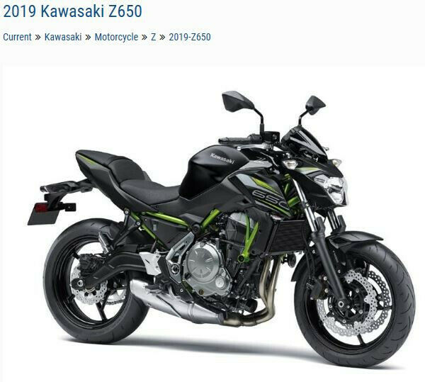 Picture of A 2019 Kawasaki Z650