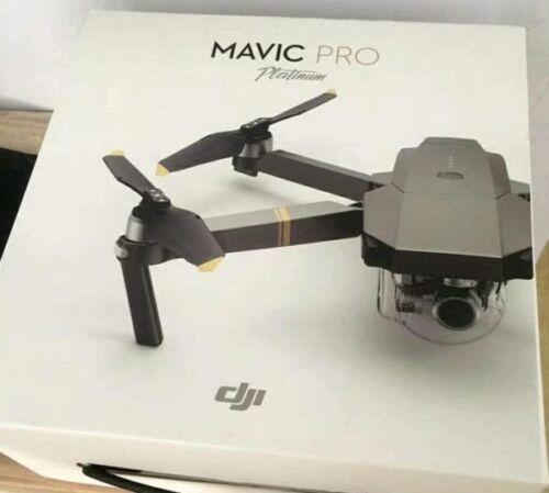 DJI Mavic Pro Folding Drone 4K Stabilized Camera Platinum ZP
