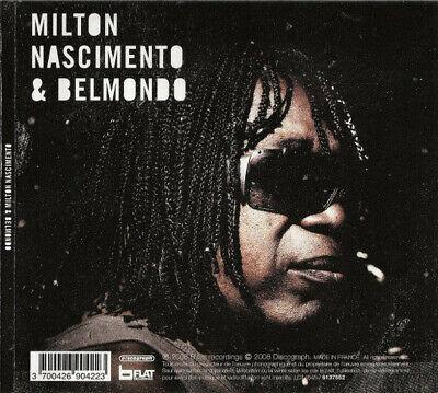 Milton Nascimento & Belmondo - Belmondo & Milton Nascimento (2008)  CD  NEW