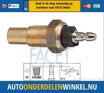 Temperatuursensor FACET 7.3056 OE: 37750-PC1-004 Honda, Kia