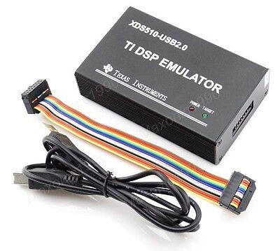 1pcs Usb Xds510 Ti Dsp Jtag Tms320 Series Emulator Programmer