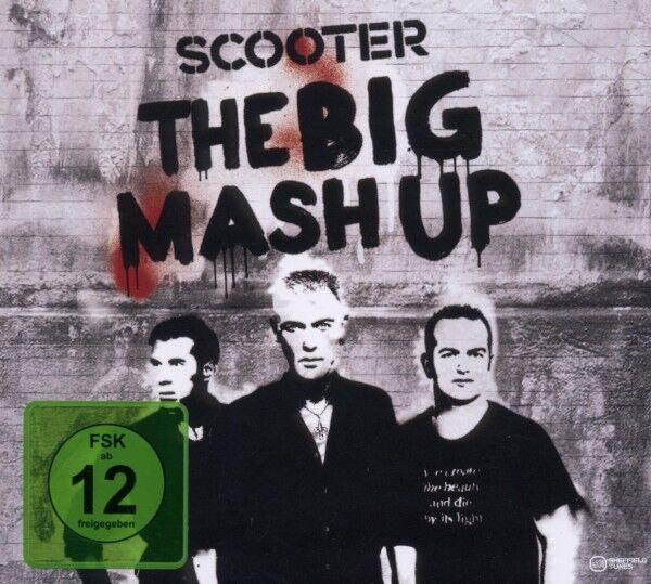 "SCOOTER ""THE BIG MASH UP (LDT.2CD+DVD)"" 2 CD + DVD NEU"