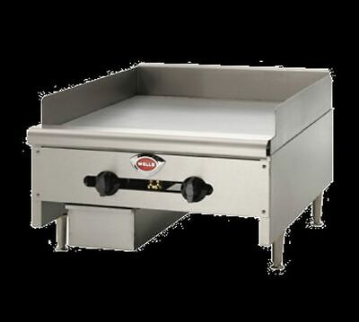 Wells Hdg-3630g Griddle Countertop Natural Gas 35 W X 23-916 D Cooking Surface