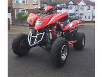 Road legal quad bike Quadzilla 450