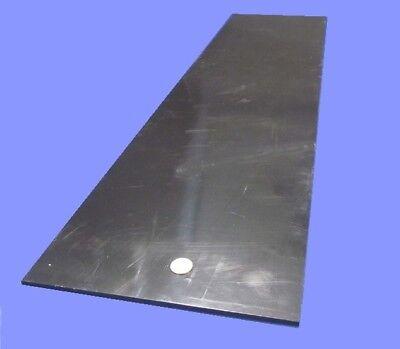 Hdpe Polyethylene Sheet Black .250 14 Thick X 12 Wide X 48 Long