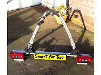 Smart Fortwo Bike Rack. Original Smart part with full electrics and number plate holder.