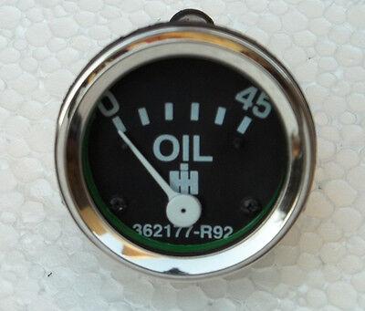 Ih Tractor Oil Pressure Gauge Fits Gas Dsl 460 560 660 3616 3800 3850