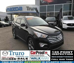 2013 Hyundai Santa Fe XL 3 ROWS! LIMITED! LEATHER! AWD! PANO ROO