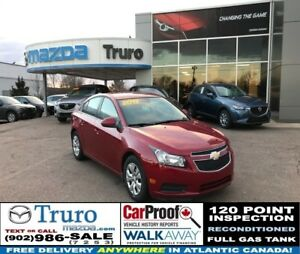 2013 Chevrolet Cruze LT TURBO! ONLY 33,000KM! SUPER LOW PAYMENTS