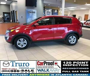 2011 Kia Sportage LX! AWD! HEATED SEATS! SAT RADIO! AWD! HEATED
