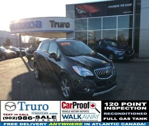2013 Buick ENCORE AWD AWD! ALLOY WHEELS! BACKUP CAM! EASY FINANC
