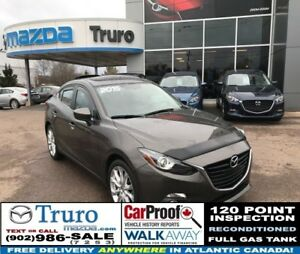 2015 Mazda Mazda3 GT! BOSE! LEATHER! NEW TIRES! GT! BOSE! LEATHE