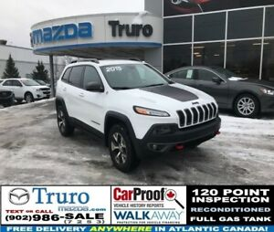 2015 Jeep Cherokee TRAILHAWK! 4WD! WINTER TIRES! LEATHER! AUTOST