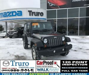 2012 Jeep Wrangler MANUAL! 4X4! SPORT! $89/WK TAX IN!!! MANUAL!