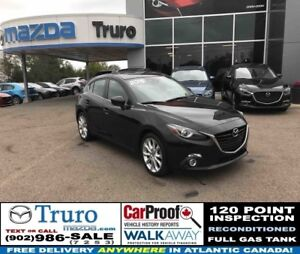2015 Mazda 3 Sport GT TECH! ONLY 31K! LEATHER! BOSE! GT TECH! ON