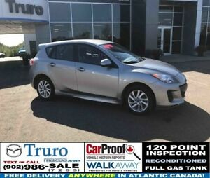 2013 Mazda 3 Sport GS! HEATED SEATS! ALLOY WHEELS! ONLY 65K! GS!