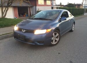 Honda Civic with winter tires!!!!