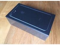 BRAND NEW/SEALED - IPHONE 7 PLUS 256GB - JET BLACK
