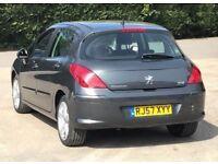 2007 Peugeot 308 1,6 litre diesel 5dr
