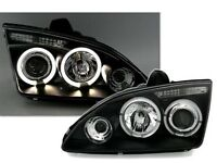 Ford Focus mk2 angel eye headlights
