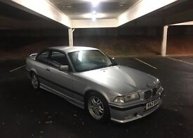 BMW E36 COUPE 1997 318 IS SPORT 88,000 FSH GREAT EXAMPLE 318IS