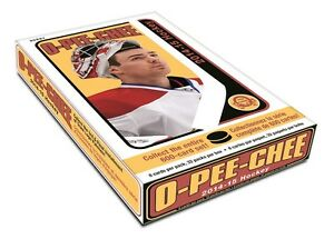 2014-15 Upper Deck O-Pee-Chee Hockey Trading Cards Box