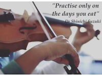 Violin teacher, violin lessons