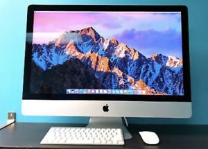 "Like new 2017 iMac 27"" 5k retina + applecare"