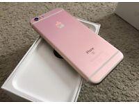 Apple iPhone 6s Rose Gold 16GB (unlocked) Apple warranty February 2018