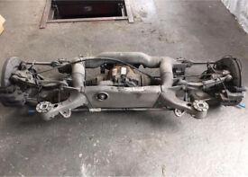 BMW, 525D, MSPORT, E60,2006 PLATE, REAR AXLE