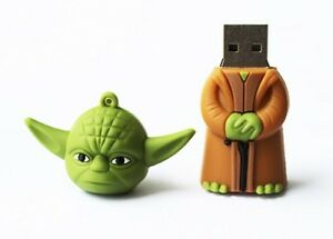 Yoda Star Wars novelty 16GB USB 2.0 flash drive memory stick