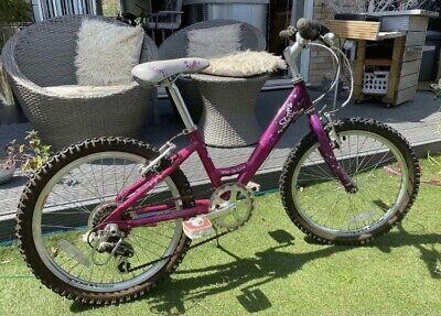 "Girls Raleigh Bike Pink Starz 20"""