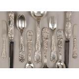 Tiffany Sterling Silver Flatware - Chrysanthemum Pattern Lot 156