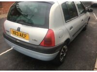 2000 RENAULT CLIO 1.4 PETROL MANUAL 5 DOOR