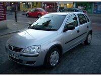 Vauxhall Corsa, 05 plate, Low Mileage, FSH, Manual