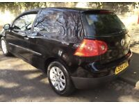 Volkswagen Golf MK5 3-dr 1.9 TDi Black NEW CLUTCH Full History 12 MONTHS MOT £1295