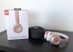Beats Solo 3 Wireless Headphones- Rose Gold