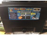 Mega media large pond filter up to 2000 gallons