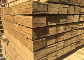 New Wooden Feather Edge Fence Panels/ Pieces/ Boards
