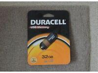 Duracell 32gb USB memory stick - RRP £25
