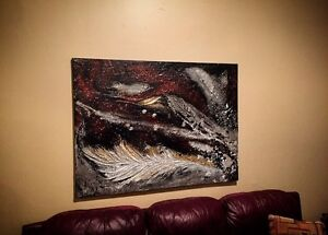 Beautiful hand painted canvas